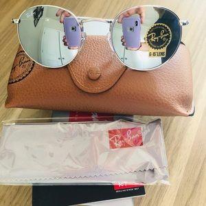 Rayban sunglasses round metal 019/30 size 50mm